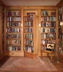 Interior:Awesome Secret Room Design With Wooden Bookaase Door And Cream  Flooring Ideas Captivating Hidden