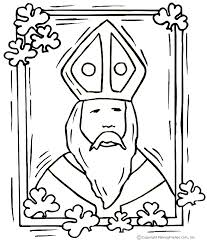Small Picture St Patrick Coloring Pages chuckbuttcom