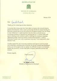 campaign letter dementia dr phillip lee mp caring for  campaign letter dementia