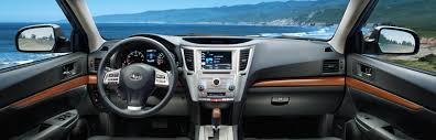 2013 subaru outback interior. Exellent 2013 U201croughing Itu201d The 2013 Subaru Outback  On Interior O