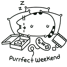 Pusheen Coloring Pages Printables Pusheen Coloring Pages