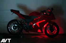 Ninja 650 Led Light Kit Avt Innovations Ninja 250 Body Glow Led Light Kit