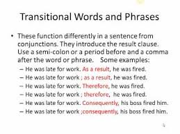 cause and effect dependent words  cause and effect dependent words