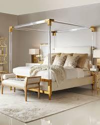 neiman marcus bedroom furniture. Hayworth Golden Acrylic King Bed Neiman Marcus Bedroom Furniture