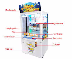 Key Master Vending Machine Game Cool Qingfeng Key Master Arcade Game Coin Drop Prize Vending Machine