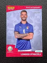 2020 Team of the Tournament Leonardo Spinazzola 136/149