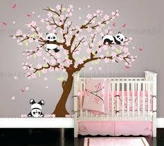 cherry blossom branch wall decal cherry blossom tree wall decal cherry  blossom wall decal playful pandas