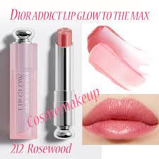 สี Addict 5 ลิปโกลว์ 3 กรัม ขนาด แต่งแต้มความงามด้วยสีสันเนื้ออ่อนนุ่มละมุน Rosewood Dior เรียวปากอิ่มด้วย Lip To Max The 212 Glow