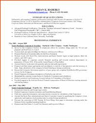 Paralegal Resume Program Format