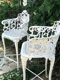 rod iron chairs outdoor vintage white ornate wrought iron chair indoor or outdoor wrought iron outdoor rod iron chairs outdoor