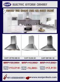 Offer On Kitchen Appliances Get Offer Price On Kaff Electric Kitchen Chimney Buy Best