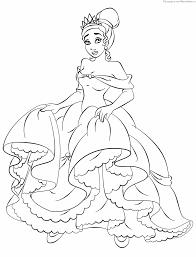 142 Dessins De Coloriage Princesse Imprimer Sur Laguerche Com