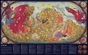 Planet Gold Size Chart Map Of Mars The Geology Of The Red Planet Visual Capitalist