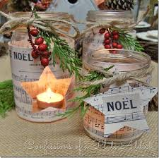 Mason Jar Decorations For Christmas Mason Jar Christmas Decorating Ideas Clean and Scentsible 74