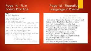 literal language figurative language reading activities figurative language