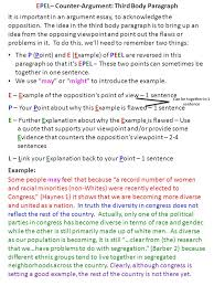 essay rubric the articles answer questions and select  10 epel