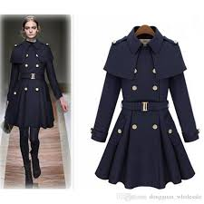 2018 nice new causl women trench woolen coat winter slim double ted overcoat winter coats long outerwear for women from tassed8 93 17 dhgate
