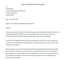 Sample Letter To Landlord To Terminate Lease Early Termination Of Tenancy Letter From Landlord Template From Landlord