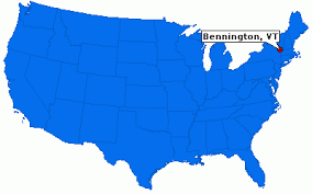 「battle of bennington map」の画像検索結果