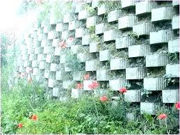 cinder block garden wall cinder block garden wall cinder block planter wall concrete block garden walls cinder block garden