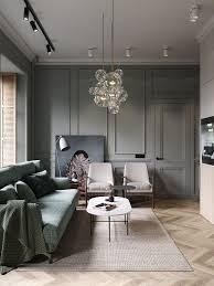 Deco Appartement Design Un Appartement Classique Chic Par Cartelle Design Living