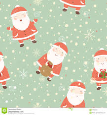 cute christmas background. Plain Christmas Download Christmas Background With Cute Santa Stock Vector  Illustration  Of Ribbon December In U