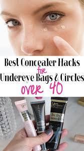 undereye concealer tips over 40