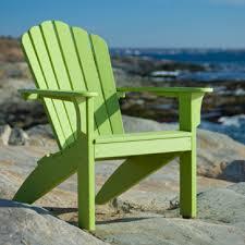 composite adirondack chairs. Coastline Adirondack Leaf Green Composite Chairs