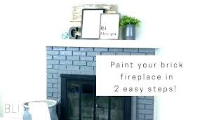 fireplace paint colors grey brick fireplace painted gray mantels white surround painting fireplaces paint colors dark