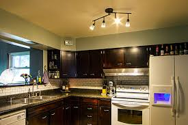 kitchens with track lighting. Example Of A Classic Kitchen Design In St Louis Kitchens With Track Lighting T