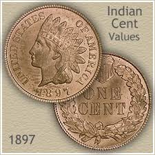 Indian Penny Value Chart 1897 Indian Head Penny Value Discover Their Worth