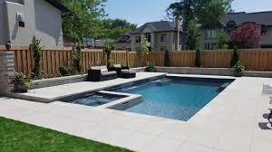 leisure pools of toronto fiberglass swimming pool installations and landscaping services