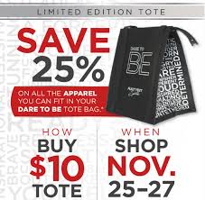fill out your information below to pre order your dare to be tote bag