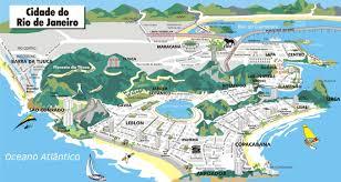 rio tourist maps