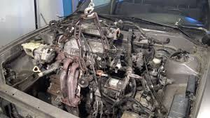 How to remove a Toyota Camry 2.2 engine in a few minutes - YouTube
