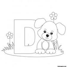 Small Picture Farm Alphabet ABC Coloring page Letter d coloring pages