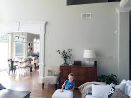 Light Gray Paint Color For Living Room The Power Of Paint Living Room Before Afters Bower Power