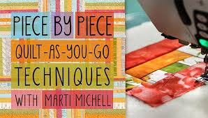 Piece by Piece: Quilt-As-You-Go Techniques Online Class | Craftsy & Preview Adamdwight.com
