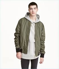 layer up with a hoo and h m divided s er jacket in khaki green