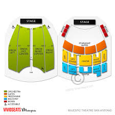 Majestic Theatre San Antonio Tx Seating Chart Majestic Theatre San Antonio Seating Guide For Upcoming