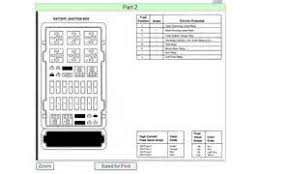similiar ford econoline fuse diagram keywords 2001 ford e250 hood fuse box diagram