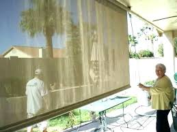 roll down shade for patio fine shades best of roll down shades for patio or horizontal
