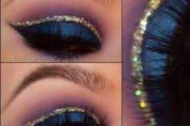 2016 pictures this arabic inspired eye makeup look uses gold glitters for the crease and dark