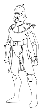 Small Picture Star Wars Clone Storm Trooper Coloring Page Wecoloringpage