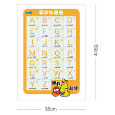 The cambridge dictionary uses international phonetic alphabet (ipa) symbols to show pronunciation. English Alphabet Sticker First Second Chinese Pinyin Primary School Children S Sound Mother