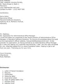 Sample Cover Letters For Administrative Positions Cowl Letter For ...