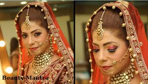 indian bridal makeup red and gold royal look plete hair and ideas collection south indian bridal