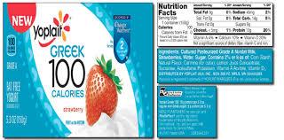 yoplait greek 100 yogurt nutrition