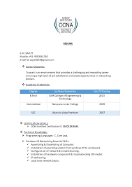 Ccna Cv Ccna Resume Examples Superb Sample Ccna Resume Barraques Org