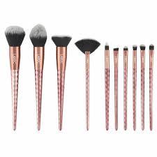 details about laroc 10pc professional diamond makeup brush set kit cosmetic foundation blush